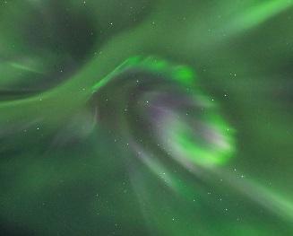Tempête solaire - des aurores boréales jusqu'en France?